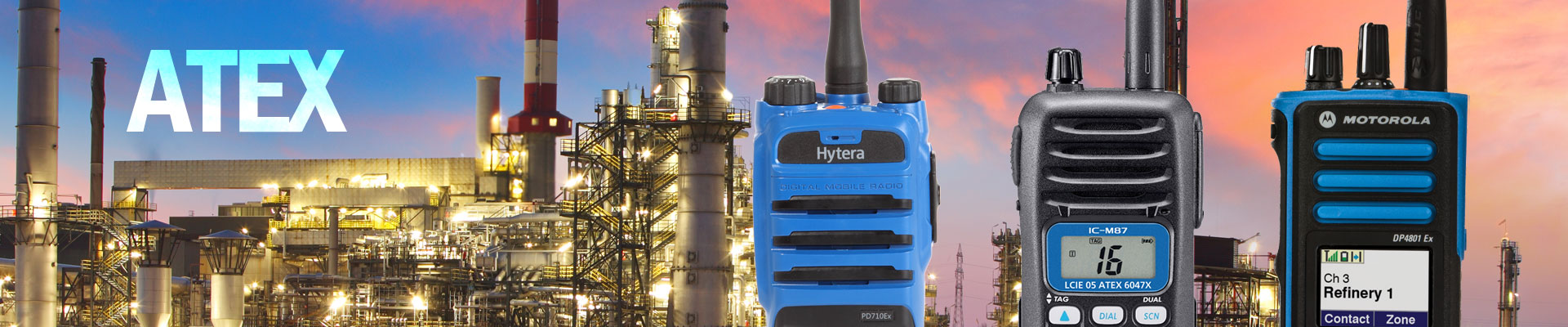 ATEX Two Way Radios image