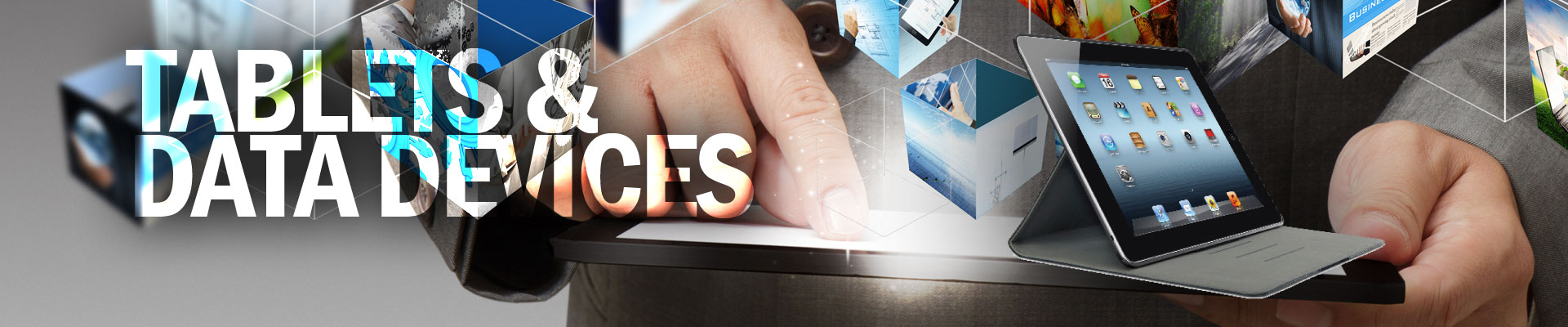 Tablets & Data Devices Banner Image