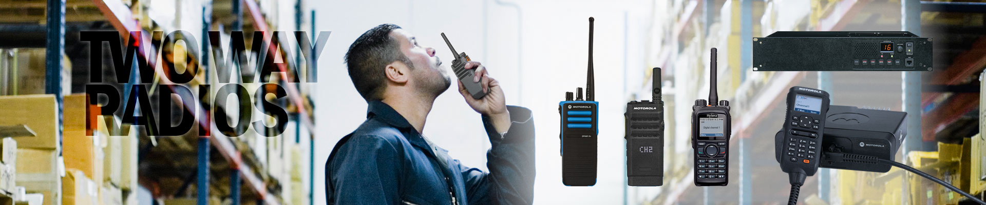 Two way radios and radio systems