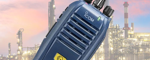Icom ATEX two way radios image