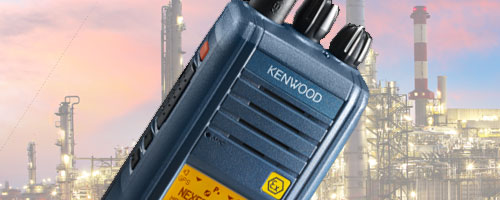 Kenwood ATEX two way radios image