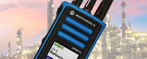 Motorola ATEX two way radios image