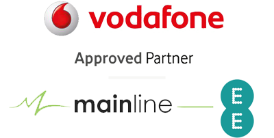 Vodafone and Mainline logo image