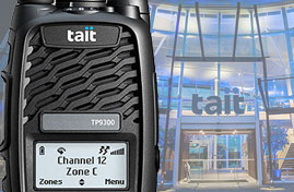 Tait Portable two way radios image