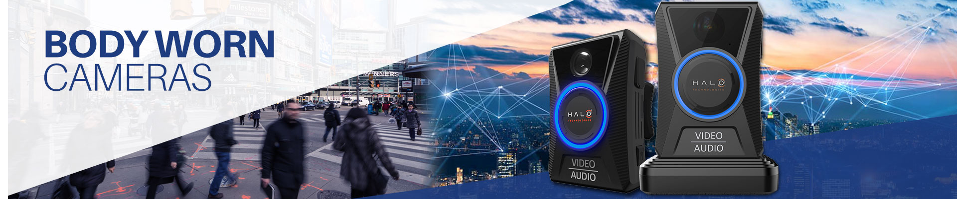 Body cameras event solutions banner image