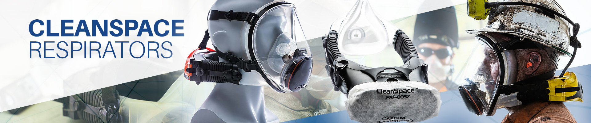 CleanSpace Powered Air Purifying Respirators Banner