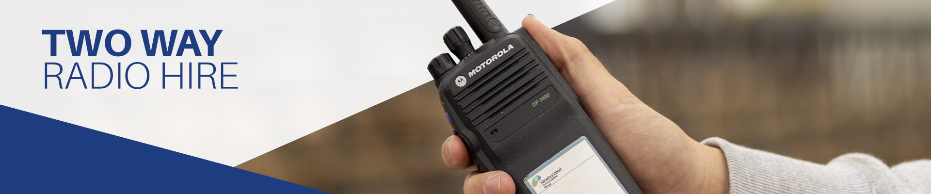 Two Way Radio Hire image