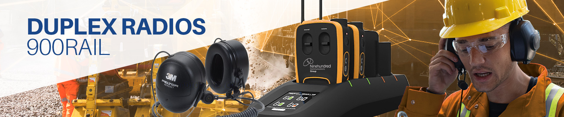 Full duplex Vokkero radios for the rail industry banner image