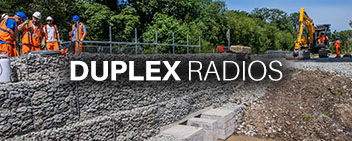 Duplex Radios for Rail Side Menu Image