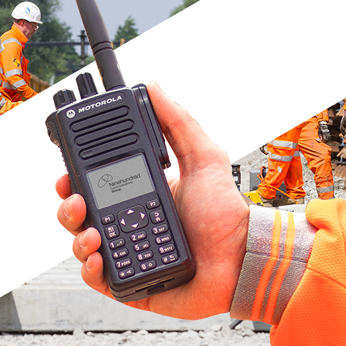 Two way radios for use in the rail industry image