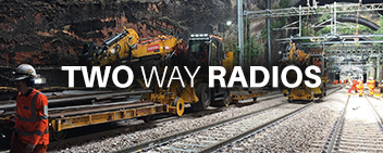 Two Way Radios for Rail Side Menu Image