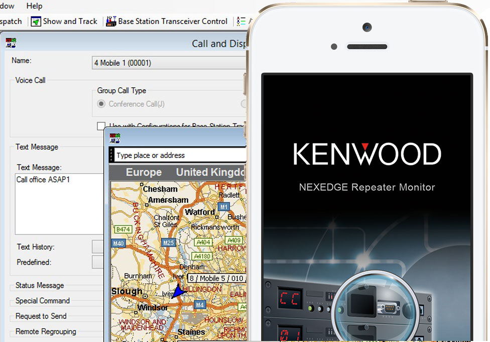 Kenwood Applications screenshot