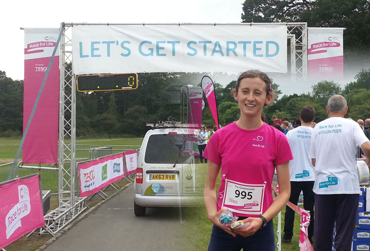Race for Life - let's get started image