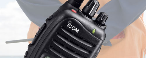 Icom Digital two way radios image