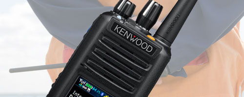 Kenwood Digital two way radios image