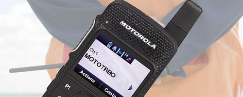 Motorola Digital two way radios image