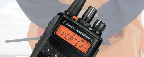 Vertex Standard Digital two way radios image