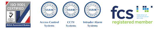 ISO9001, SSAIB and FCS Logos