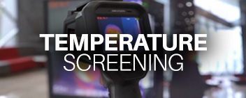 Temperature screening image link