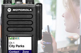 Motorola Portable two way radios image
