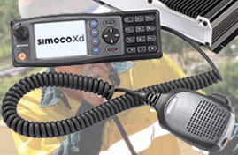 Simoco Mobile two way radios image