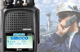 Simoco Portable two way radios image