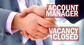 Account Manager vacancy image