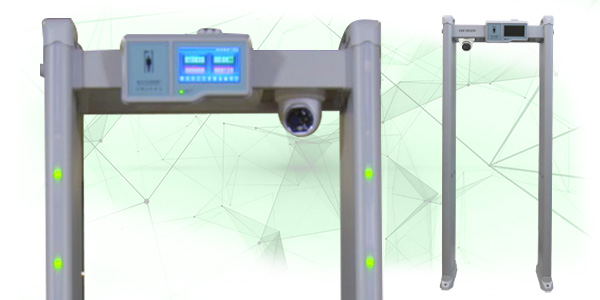 Entrance metal detector solution