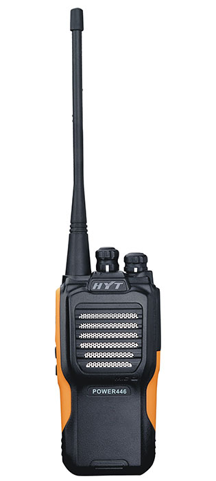 HYT Power 446 two way radio image - front