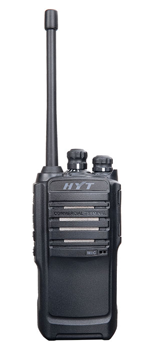 HYT TC-446S two way radio image - front