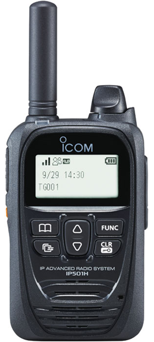 Icom IP501H Push to Talk Over Cellular (PoC) radio image - front
