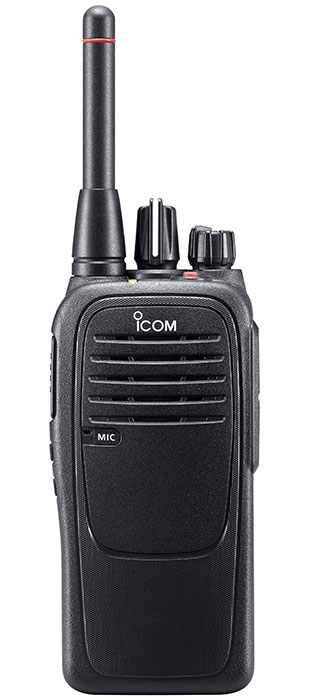 Icom IC-F29SR2 two way radio image - front