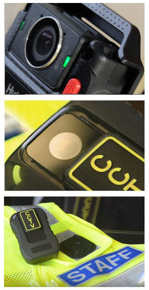 Body worn camera images