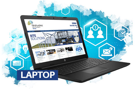 Site Solutions Laptop Image