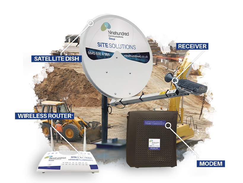 Satellite Broadband Equipment Image