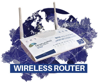 Satellite Wireless Router Image