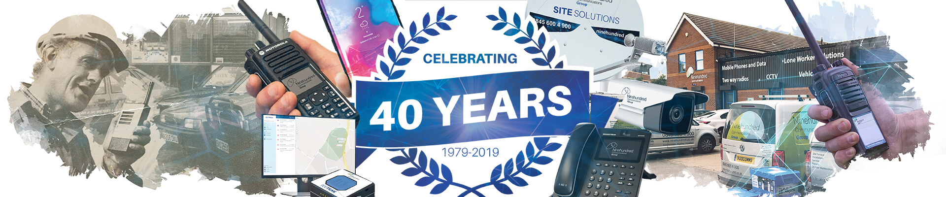 40 years banner image