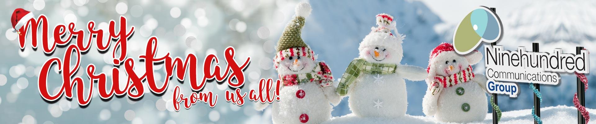 Merry Christmas from Ninehundred Communications Group image