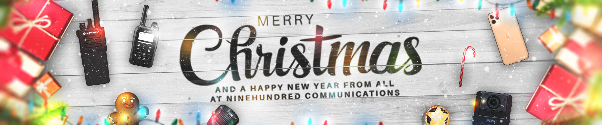 Ninehundred Communications Group Christmas Banner for 2019