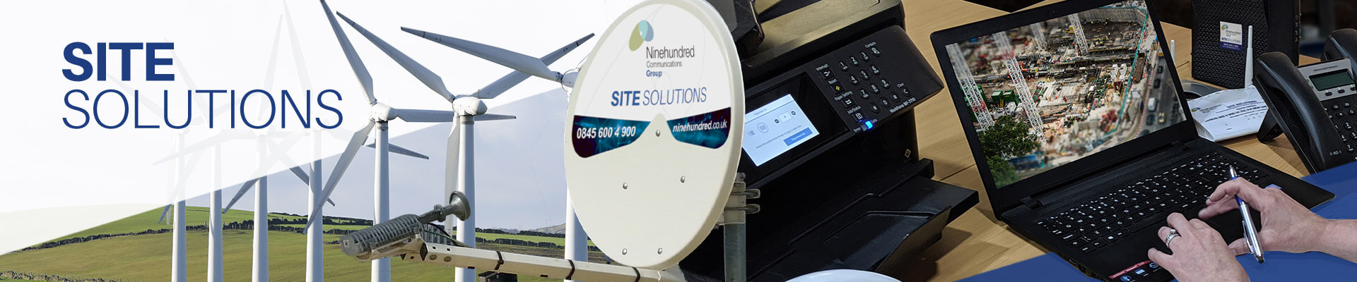 Site Solutions Division Banner Image
