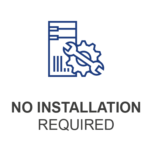 No Installation Required Icon