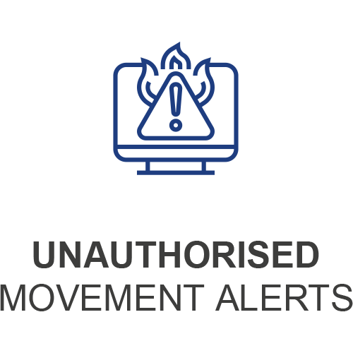 Unauthorised Movement Alerts Icon