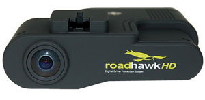 Roadhawk HD vehicle camera image
